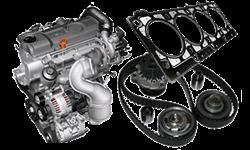 Motor, tesenia, rozvody