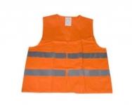 Reflexná vesta XXXL - oranžová farba