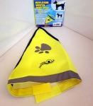 Reflexná vesta pre psa do 15kg - žltá