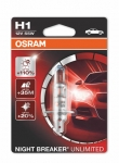 OSRAM Night Breaker Unlimited H1, 12V 55W, 1 ks - 64150NBU