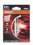 OSRAM Night Breaker Unlimited H1, 12V 55W, 1 ks - 64150NBU