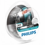 PHILIPS X-tremeVision +130% H1 12V / 55W, 2ks - 12258XV+S2