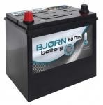 Autobatéria BJORN 12V, 60Ah, 480A +L - BA0601