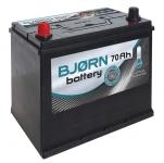 Autobatéria BJORN 12V, 70Ah, 580A +L- BA0701