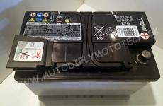 Autobatéria Originál VW 12V 69Ah, EN 680A, EFB - 000915105EC, ...