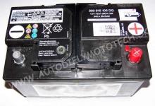 Autobatéria Originál VW 12V 72Ah, EN 640A - 000915105DG