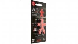 JEFF osviežovač vzduchu červený chrome -  Raspberry ...