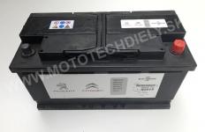 Originál PSA Autobatéria 12V 95Ah, 950A - 5600TK