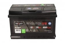 Autobatéria Maxgear 12V, 70Ah, EFB, 650A, + P - 85-0003