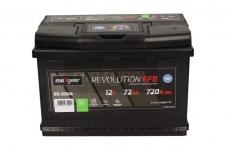 Autobatéria Maxgear 12V, 72Ah, EFB, 720A, + P - 85-0004