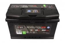 Autobatéria Maxgear 12V, 82Ah, EFB, 800A, + P - 85-0006
