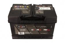 Autobatéria Maxgear 12V, 75Ah, 750A, + P - 85-0013