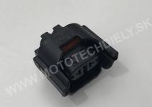 Originál svorkovnica plochého kontaktu H8, H11 - 3D0941165A