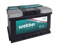 Autobatéria WEBBER 12V, 62AH, 540A