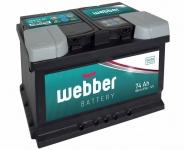 Autobatéria WEBBER 12V, 74AH, 680A