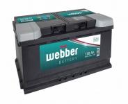Autobatéria WEBBER 12V, 100AH, 750A