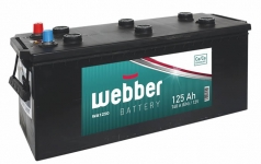 Autobatéria WEBBER 12V, 125AH, 700A
