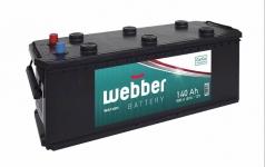 Autobatéria WEBBER 12V, 140AH, 800A (úzka)
