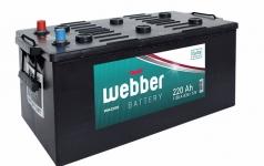 Autobatéria WEBBER 12V, 220 Ah, 1150A