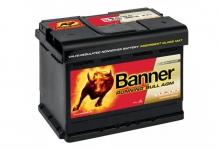 BANNER Running Bull AGM 12V 60Ah, 640A - 560 01