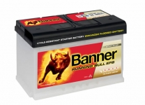 BANNER Running Bull EFB 12V 70Ah, 660A - 570 00