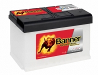 BANNER POWER BULL PROfessional 12V 77Ah, 680A ...