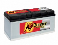 BANNER POWER BULL PROfessional 12V 100Ah, 800A ...