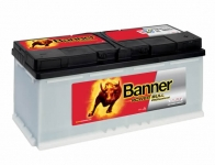 BANNER POWER BULL PROfessional 12V 110Ah, 850A ...
